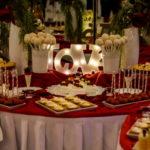 candy bar białystok - biało-czerwony