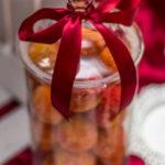 candy bar białystok - biało-czerwony - brzoskwinki
