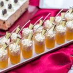 candy bar białystok - biało-czerwony - mini-deserki panna cotta
