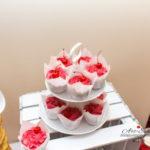 candy bar białystok - biało-czerwony - muffinki