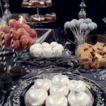 candy bar białystok czarno-srebrny - monoporcje