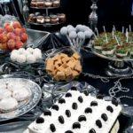 candy bar białystok czarno-srebrny - sernik oreo