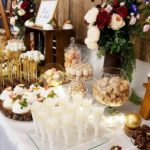 candy bar białystok rustykalny biało-złoty