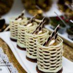 candy bar białystok złoty - deserki w koszyczkach