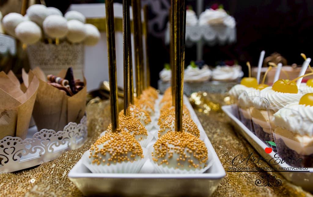 candy bar białystok złoty- cake poops