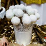 candy bar białystok złoty - białe cake poops