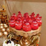 candy bar białystok złoty z piórami- shuecakes